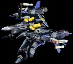 DX Chogokin Macross Frontier VF-25S Armored Messiah Valkyrie Ozuma - gerwalk