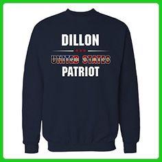 Dillon United States Patriot July 4th Independence Day Gift - Sweatshirt - Holiday and seasonal shirts (*Amazon Partner-Link)
