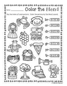 S Blends Coloring Pages | Coloring Pages