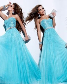Sherri Hill Light Blue 2545  $500.00