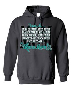 I Am A Show Mom Hoodie Show Cattle, Showing Livestock, Livestock Judging, After Baby, Baby Arrival, Pregnant Mom, First Time Moms, Baby Hacks, Baby Tips