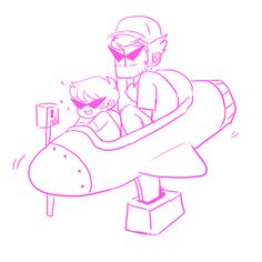 Dave Strider and Bro Strider, Homestuck