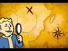 FALLOUT 4 - SECRET TREASURE CHEST & MAP! (Fallout 4 Secrets)