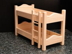Hey, I found this really awesome Etsy listing at https://www.etsy.com/listing/120930998/bunk-beds-for-12-inch-dolls