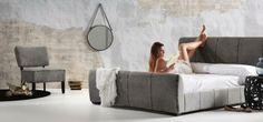 Mirar que preciosa cama modelo Yana, cómoda y bonita! Os va a gustar! #diseño #interiorismo #muebles
