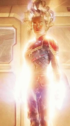 Captain Marvel Carol Danvers GIF - CaptainMarvel CarolDanvers - Discover & Share GIFs Best Picture For GIF animados For Your Taste You are looking for something, and it is going to tell you exactly wh Marvel Comics, Marvel Gif, Marvel Heroes, Marvel Characters, Marvel Avengers, Captain Marvel Powers, Harley Queen, Wanda Marvel, Captain Marvel Carol Danvers