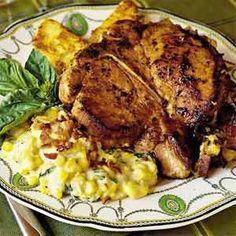 Stuffed Pork Chops Recipe    #pork #chop #recipes