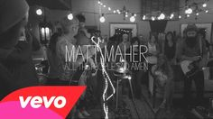 I'm in this video! Rocking out with Matt Maher - All The People Said Amen (Performance Video)