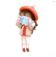 Cute Bunny Cartoon, Cute Cartoon Pictures, Cute Cartoon Drawings, Girly Drawings, Cute Love Cartoons, Cartoon Girl Drawing, Anime Girl Drawings, Cartoon Pics, Cute Love Wallpapers