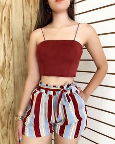 teen clothes for school,teen fashion outfits,cheap boho clothes Cute Comfy Outfits, Cute Summer Outfits, Short Outfits, Pretty Outfits, Stylish Outfits, Summer Shorts, Teen Fashion Outfits, Cute Fashion, Look Fashion