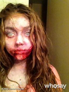 Zombie pub crawl ideas. Make-up & hair.