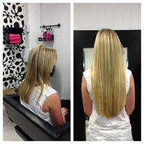 Full head of pre bonded hair extensions 20 inches beautiful full head of pre bonded hair extensions in 20 inch 285 fitted at our kingston pmusecretfo Choice Image