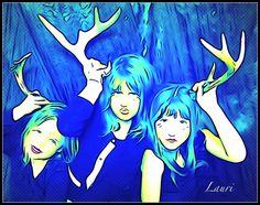 "Photo art ""Deer Buddies"" by Leoh"