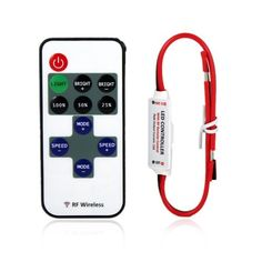Buy it now Mini LED Controller Dimmer with RF Wireless Remote Control DC 5~24V 12A R106