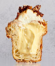 Maple Pecan Pie, French Bakery, Croissant, Maple Syrup, Camembert Cheese, Caramel, Cream, Cl, Food