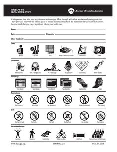 Living with arthritis ability chart by the american for Minimalist living guide pdf