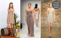 Trend Report! The Hottest Bridesmaid Dresses For2014