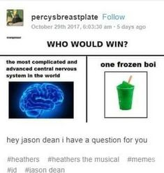 heathers the musical memes Theatre Nerds, Musical Theatre, Heathers The Musical, Jd Heathers, Be More Chill, Dear Evan Hansen, Mean Girls, Humor, Shut Up