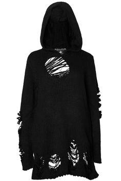 Nu-War Knit Hoodie £37.99
