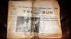 Westerly Sun 75th Anniversary 1893 to 1968 by DesiresAndNeeds