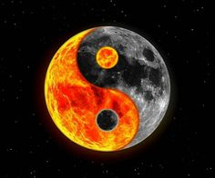 darker ying yang moon