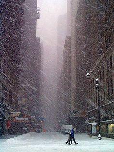 Snowy Day, New York City photo via heather