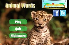 Play #AnimalWords. Animal words made for education, this games are great to exercise a kid to learn more about animal.
