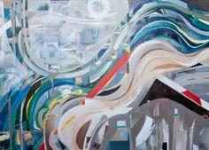 Quelle am Morgen - (c) Elisabeth Rütsche Collage Kunst, Collagen, Painting Abstract, Mornings