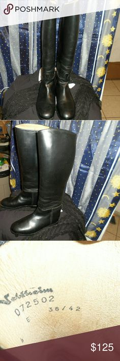 Veltheim women's Swiss made boots Gently used women's Swiss made riding boots no noticeable wear at all. These are the top riding boots worn by Olympian equestrian riders due to the grip they provide the riders. Veltheim Shoes Over the Knee Boots