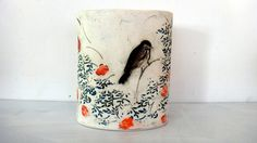 Christine Williams Porcelain ---  design ceramic pieces - mugs and plates and bowls