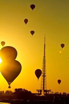balões - Brasília