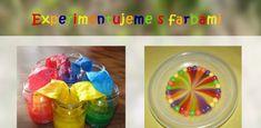 Zaujímavé experimenty s farbami pre deti