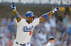 #Cuba: #YasielPuig regresa con los #Dodgers y parece otro  #GrandesLigas