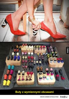Tanya Heath Paris (Canada) Boutique in Toronto featuring TANYA HEATH Paris Women's footwear and interchangeable heels. Wedge Boots, Shoe Boots, Shoes Heels, Flat Shoes, Interchangeable Heels, Clearance Shoes, Crazy Shoes, Funky Shoes, Fashion Shoes