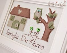 quadretto regalo handmade