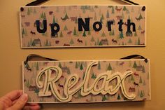 Need some decor for you cabin up north?!
