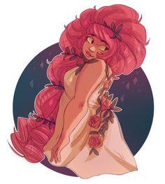 Warmup Rose  -by snejkha.tumblr.com