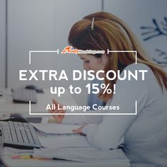 The best deals for all language courses are here! Invite your friends to avail our group discount & save even more with our EXTRA Discount! http://www.studybooking.com/school/search/language/country/city/view/1  #languagecourse #groupdiscount #english #spanish #italian #french #chinese #mandarin #japanese #arabic #dutch #german #greek #portuguese #polish #russian #어학연수 #어학코스 #어학원 #영어 #스페인어 #이탈리아어 #프랑스어 #중국어 #일본어 #아라비아어 #네덜란드어 #일어 #포르투갈어 #인도네시아어#러시아어 #태국어