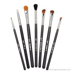 I really like my brush set, I think they give you a lot of brushes for you buck. I only  have used maybe two or three of these brushes.