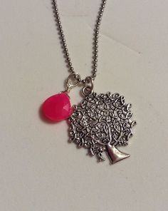 Cancer awareness necklace 20% goes to Relay for Life by ddbrown83