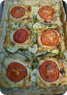Coca vegetal - * Pizzaaaa and more - Yummy Vegetable Recipes, Vegetarian Recipes, Healthy Recipes, Oven Recipes, Pasta Recipes, Cooking Recipes, Potpourri, Empanadas, Bread And Pastries