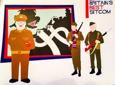 Dad's army art nations best sitcom pop art