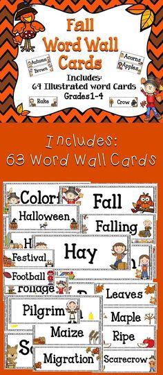 Fall Word Wall