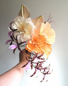 DIY Paper Orchids by Kate Alarcon at Design*Sponge