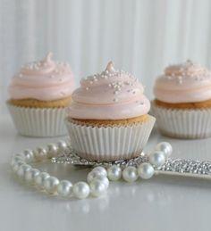 Perfect elegant cupcakes!