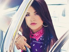 For frizz-free, sleek tresses like Becky G, try these recommended styling products and tricks from celeb hairdresser, Lee Rittiner. #oribehair #impermeable @Seventeen Magazine