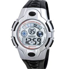 Waterproof Sport Kids Digital Wrist Watches for Boys. Japanese quartz movement, high-grade material. Watch band length: 9.49 inches. Great gift for your children, convenient for life. Date, day, month, second, minute, hour displaying, alarm, chronograph function. Recommended age: more than 9 years old.
