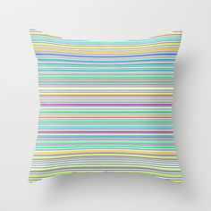 Re-Created Channels ix #Throw #Pillow by #Robert #S. #Lee - $20.00