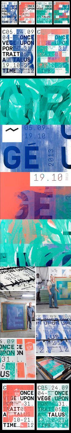 PROMO Galerie C: season September 2013 - Design: Thibaud Tissot, Josh Schaub Format: cm) Print: Serigraphie Uldry Typo Poster, Typographic Poster, Poster Layout, Design Poster, Graphic Design Typography, Design Graphique, Art Graphique, Brainstorm, Packaging Design