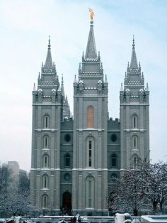LDS SLC temples in winter - Google Search